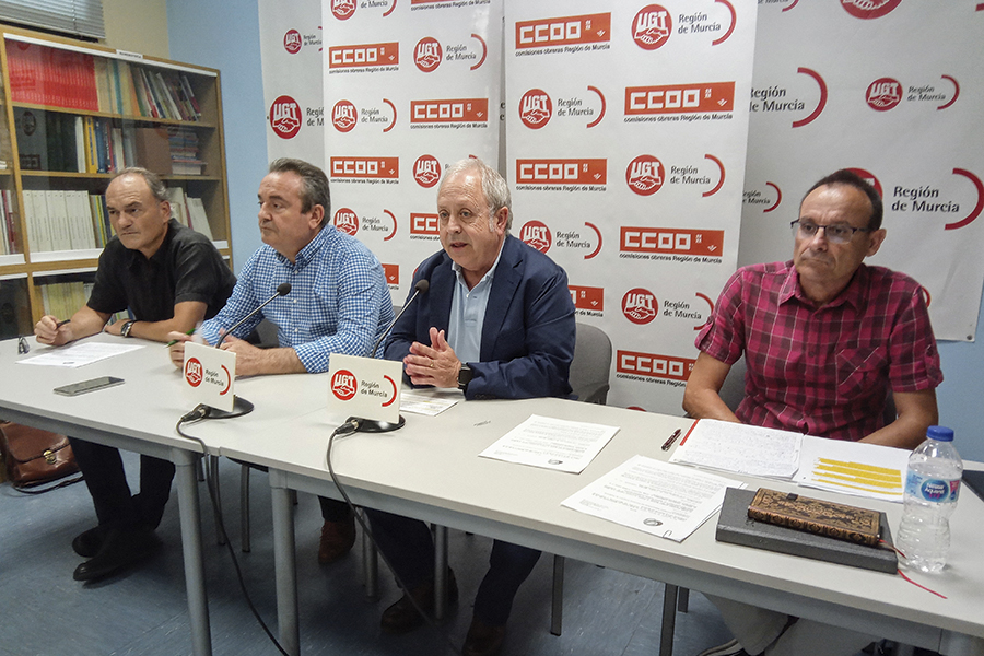 """UGT y CCOO anuncian un """"verano caliente"""" ante el bloqueo patronal del convenio de hostelería de Murcia en los últimos 11 años"""