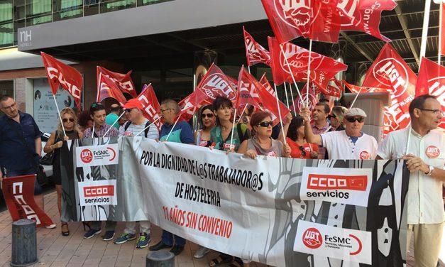 UGT y CCOO vuelven a denunciar el inmovilismo de las patronales de hostelería de Murcia